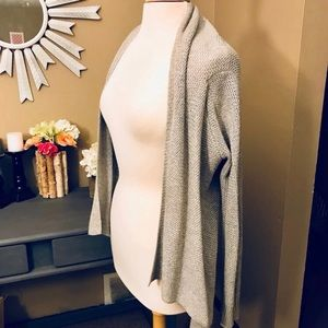 Mossimo Grey Asymmetrical Sweater